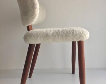 Midcentury Modern Danish retro chair in teak