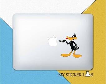 Daffy Duck MacBook Decal Daffy Duck MacBook Sticker Looney Tunes Daffy Duck Sticker Looney Tunes Daffy Duck Decal Cartoon Laptop cmac284