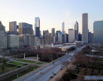 Chicago Skyline - Millennium & Grant Park