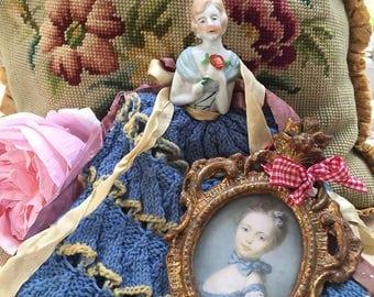 French boudoir tea cosy dolly