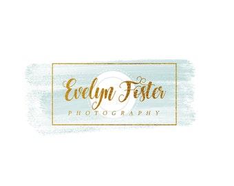 Premade logo design, logo design, photography Logo, photography watermark, Gold Camera, photographer logo, Camera logo,