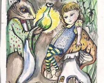 Alice magic potion