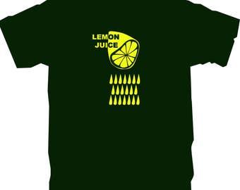 T-Shirt - Dark green - Lemon juice - size M
