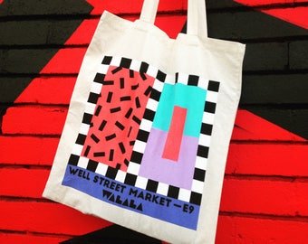 Camille Walala Cotton Tote Bag