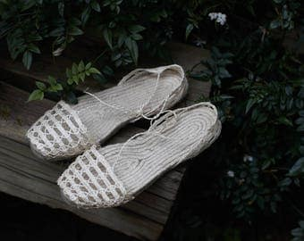 HANDMADE ESPADRILLES -handcrafted with love in the balearic islands