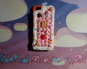 Kawaii Decoden Frosting iPhone 5/5s Case #4