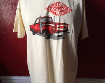 NEW Vintage 80's Dodge Little Red Wagon Truck T-Shirt L