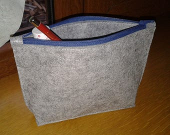 how to make small felt bags