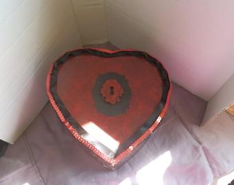 I Heart You Box-Upcycled Thrift Store Box