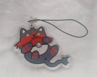 Litten and Pokeball Charm