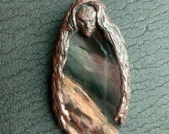 """Brooch """"Ancient Maiden"""""""