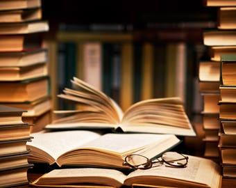 5 random used books