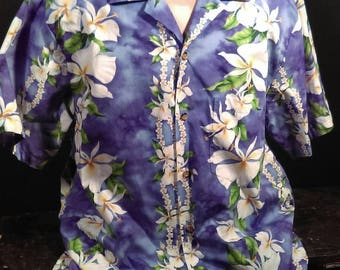 Vintage Mens Hawaiian Shirt