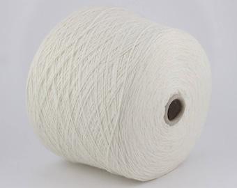 80% Angora yarn on cone, hand knitting, machine knitting, rabbit angora, 100 g