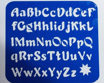 Alphabet Stencil (Star) **Introductory Price!!**