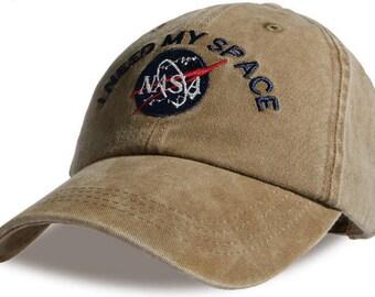 NASA I Need My Space Hat Cap