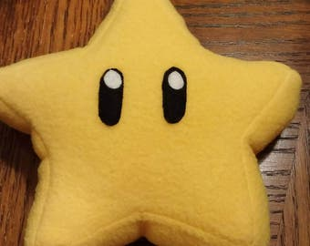 Plush Mario Star
