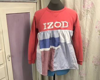 Upcycled Recycled Casual Sweatshirt