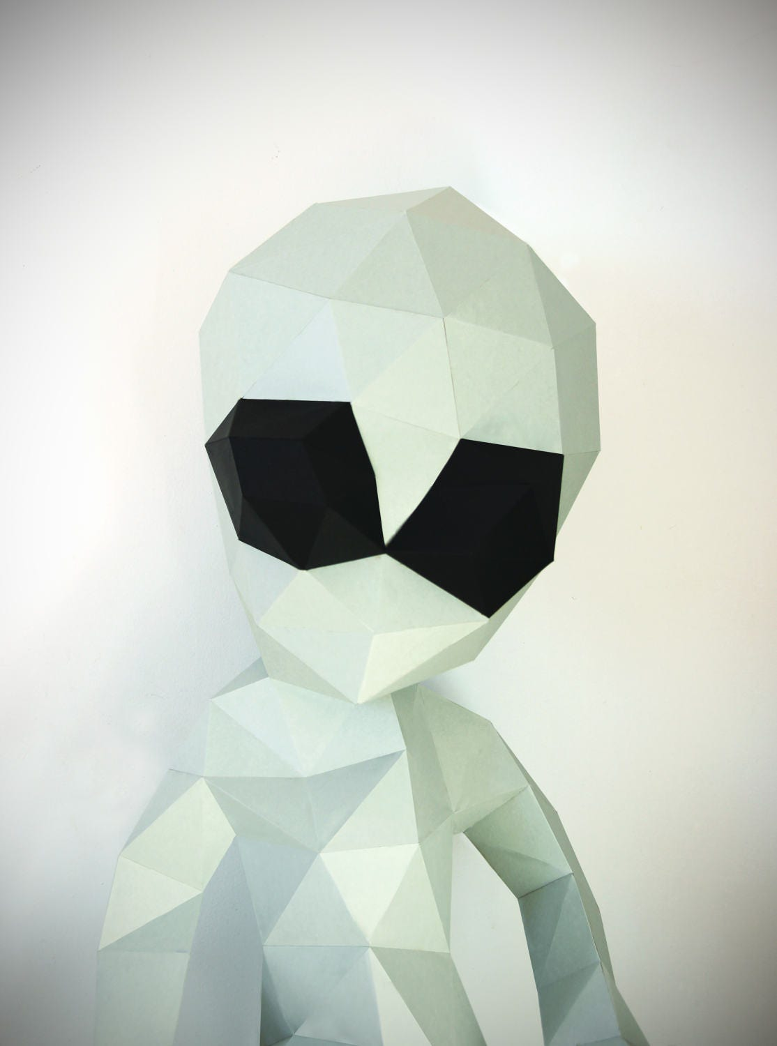 alien papercraft pdf template and instructions 3dpuzzle