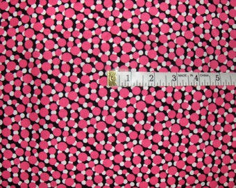 "Michael Miller Fabric by the Yard - ""Pink Bubbles"""
