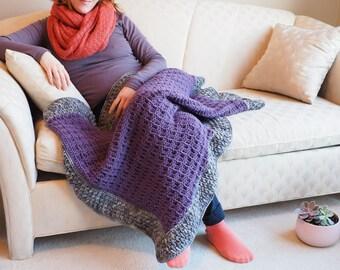 Lapghan, tummy time blanket, afghan, blanket