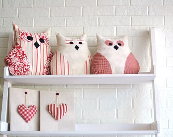 Olly the Owl - fun decorative pillow