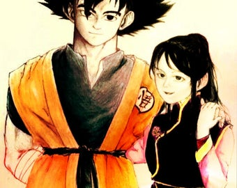 Keepsake- Goku and ChiChi
