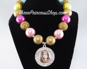 American Girl Doll Bubblegum Necklace (Kids) - Blonde