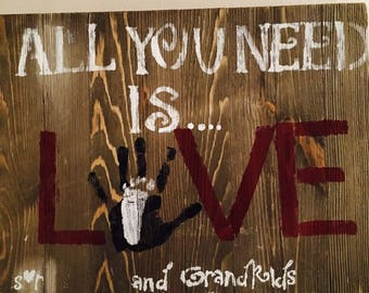 All You Need Is Love and...Grandkids