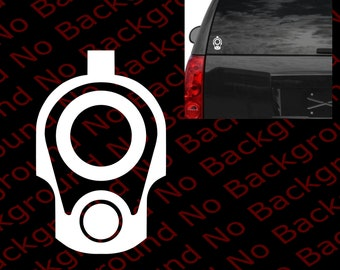 Gun Barrel Decal Etsy - Custom gun barrel stickersgun barrel decals