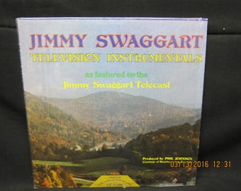 """Jimmy Swaggart """"Television Instrumentals"""" - Jim Records (1975)"""