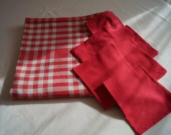 Basque tablecloth
