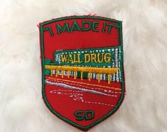 Vintage Wall Drug South Dakota Patch