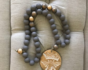 "Large ""Queen Bee"" Blessing Beads"