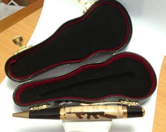 Pen in a Violin case
