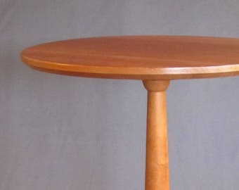 Solid Cherry Shaker Round Table Handcrafted for Home