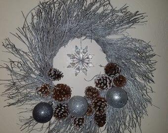 Winter themed wreath