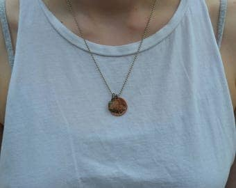 Lucky Penny Necklace (Curvy)