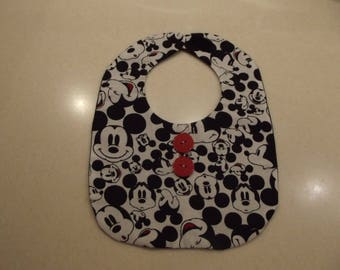 Mickey Mouse Infant Bib/Baby Bib