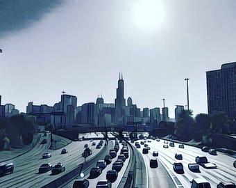 Chicago Skyline Nov. 2016