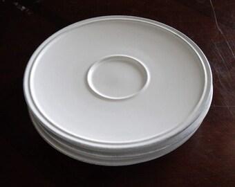 Costa Nova Friso Saucer Plate, Set of 4