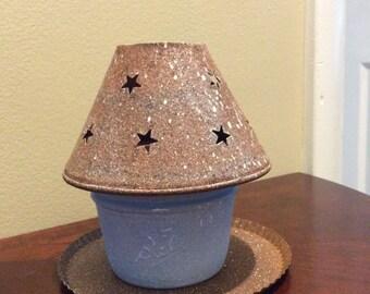Primitive Tea Light Canning Jar