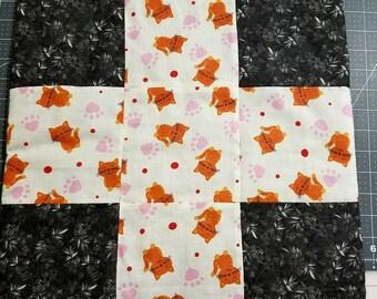 15 x 15 catnip blanket   catnip toy  catnip mat