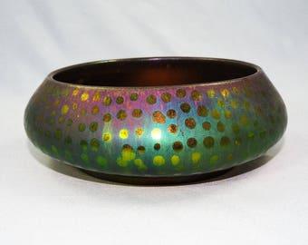 Montieres-French Art Nouveau Ceramic Bowl