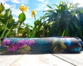 Yoga Mat Bag Vibrant Orchids