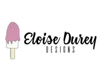 Pre Made Ice Cream Logo
