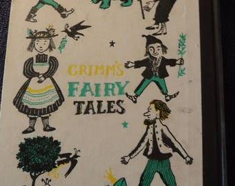 Grimm's Fairy Tales - Hardbound, 1954 Doubleday Classics