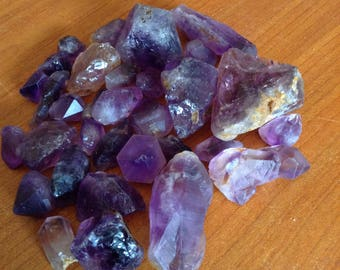 Deep purple amathyes