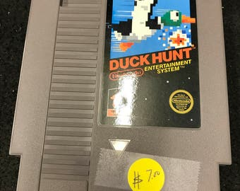 Vintage Nintendo Game Duck Hunt