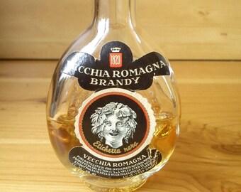 Vecchia Romagna Miniature Brandy Bottle